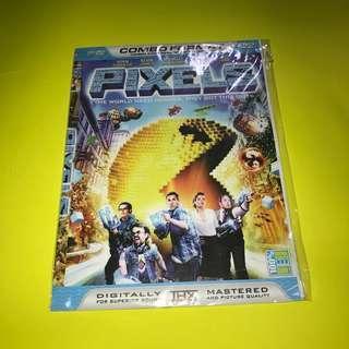 KASET DVD MOVIE BARAT - Pixels