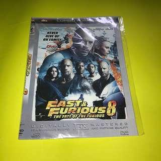 KASET DVD MOVIE BARAT - Fast & Furious 8