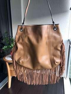 Tocco Tenero leather shoulder bag