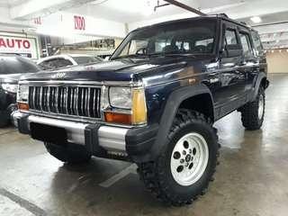 1994 Jeep CHEROKEE 4.0 Limited 4x4 Automatic.Warna BIRU.Kondisi PRIMA