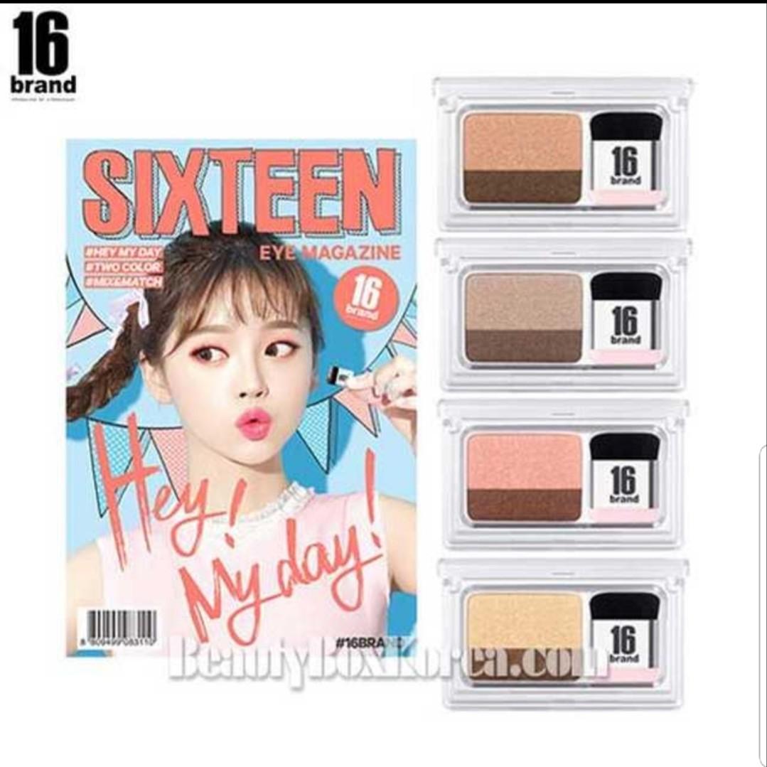 16brand Sixteen Eye Magazine Health Beauty Makeup On Carousell