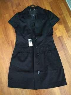 BNWT Bossini Ladies Trench Button Dress