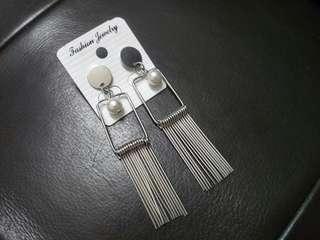 Modern Pearl Steels Earrings #PRECNY60