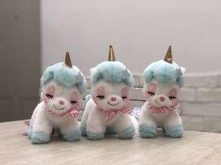 全新景品限定公仔figure - 夢幻可愛鈴鐺粉色星星獨角獸公仔 Fantasy cute bell pink star unicorn doll