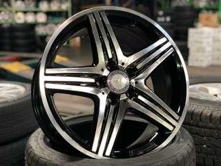 "18"" Original AMG rims for Mercedes Benz"