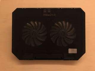 筆記型電腦散熱器 11至15.6吋電腦適用 靜音降溫底座墊
