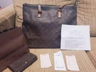 Louis vuitton LV Cabas Mezzo Bag repriced
