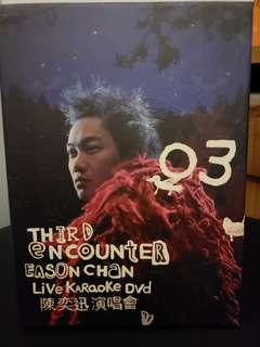陳奕迅 THIRD ENCOUNTER 演唱會 2003 DVD