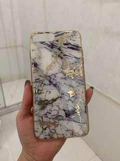 IPHONE 8+ marble case