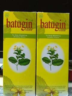 Batugin Elixir 300 ml membantu meluruhkan batu urin di ginjal