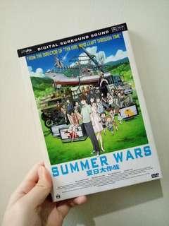 (GOOD DEAL ❗) SUMMER WARS DVD 📀