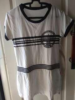 RINGER TEE DRESS