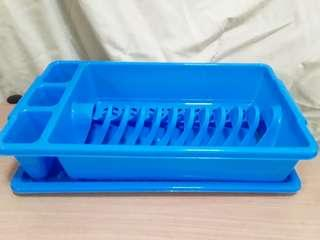 Plastic Dish Drainer with tray