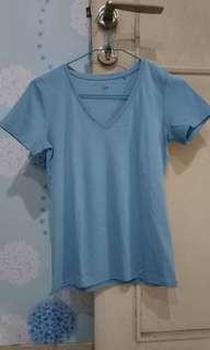 Uniqlo Blue Shirt