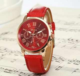 Original Geneva watches with very attractive colour