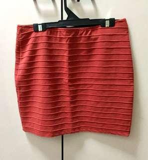 BN Mini Skirt Red