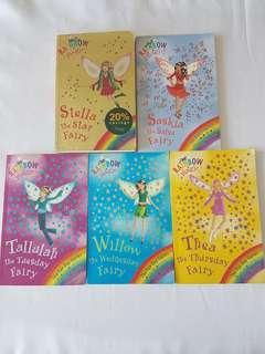 Rainbow Magic Series  Children's Books (5 books)