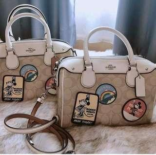Coach Mickey Mouse Bennet Doctor's Bag