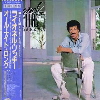 Vinyl LP Lionel Richie – Can't Slow Down VIL-6070 first 1983 japan pressing with obi & ins
