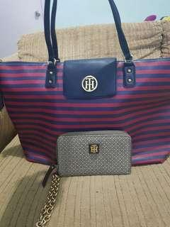 Tommy hilfiger Bag and Wallet