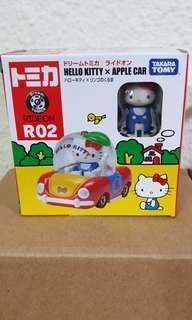 BNIB Takara Tony Hello Kitty x Apple Car