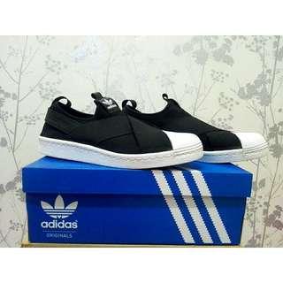 Adidas Superstar Slip On Black