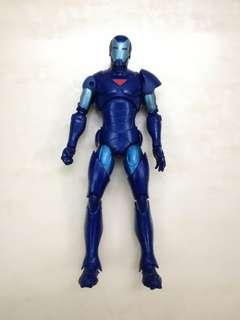 Marvel Legends - Extremis Blue Stealth Iron Man - Hasbro / Toybiz