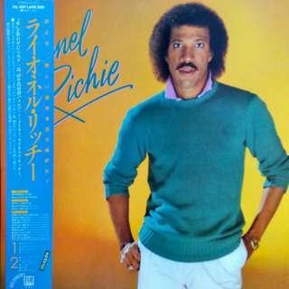 vinyl LP Lionel Richie – self titled debut Motown – VIL-6011 1982 japan press