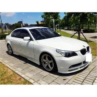 BMW  E60  530  3.0L  '05  白