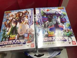 未開封超合金 Toy Store一套兩盒(唔分開賣,兩盒可大合體)