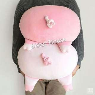 🇰🇷 Daiso Korea Pig Cushion 大創韓國豬仔咕
