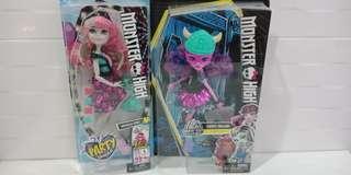 Monster High Rochelle Goyle (available) n Kjersti Trollson(reserved)