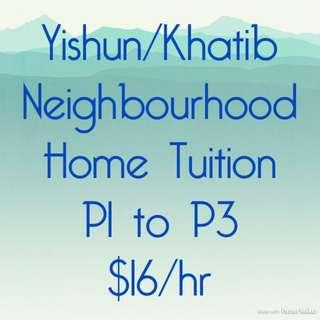 Neighood Home tuition