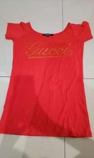 Gucci Red Top Original