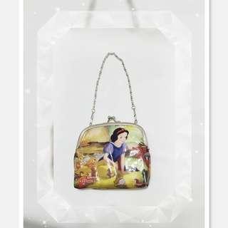 *全新品 韓國購入 Disney 可愛白雪 公主小手提包一個