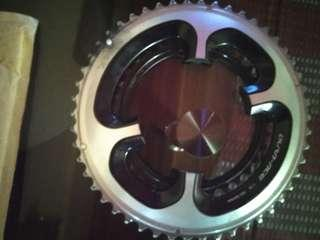 Dura ace chainring set 50-34