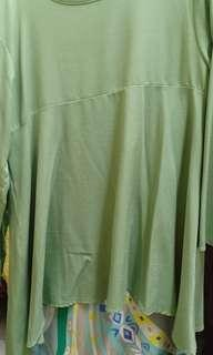 Blouse dgn skirt free size