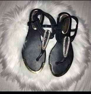 Bata Black Sandal