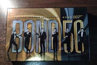 Blu-ray set Celebrating Five Decades of Bond 007