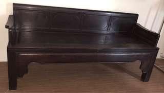 Antique Opium Bench