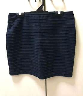BN Mini Skirt Navy Blue