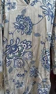 Kurung moden cotton