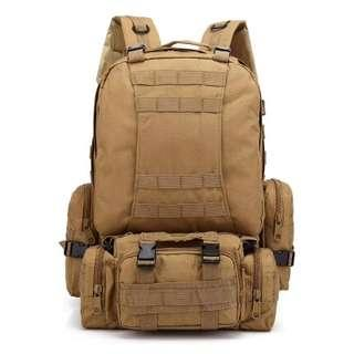 Molle Tactical Outdoor military backpack camping trekking bag