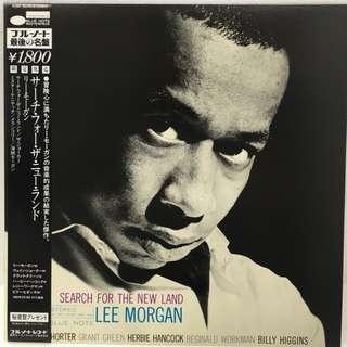 vinyl LP Lee Morgan – Search For The New Land Blue Note – K18P 9246 BNST 84169 1983 japan King press