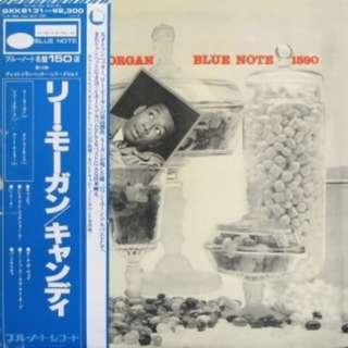 vinyl LP Lee Morgan – Candy Blue Note – GXK 8131(M) 1979 japan king press