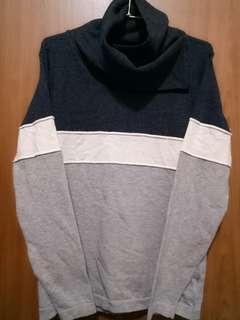 🚚 【JY精選_新品】韓國領口設計款長袖上衣,顏色灰白藍,優惠價688元