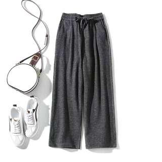 [INSTOCKS] grey culottes (SUITABLE FOR PLUS SIZE)