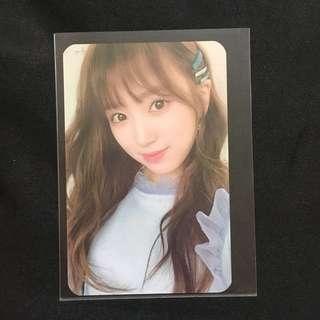 [WTS] IZ*ONE Color Iz Yabuki Nako Selfie Broadcast Photocard