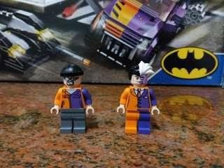 LEGO 6864 Super Heros Two-face minifigs