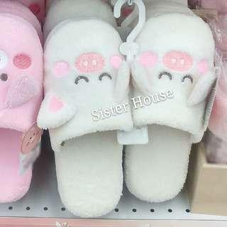 🇰🇷Daiso Korea Pig Indoor Slippers 大創韓國豬仔室內拖鞋